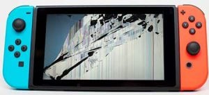 reparacion nintendo switch pantalla rota