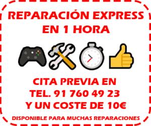 reparacion express consolas